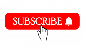 """""""Subscribe"""" logo with notification bell"""